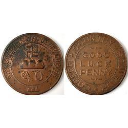 Michigan Copper Medallion  (123081)