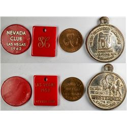 Early Las Vegas Tokens from Gaming Houses  (123060)