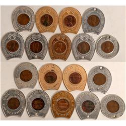 Nevada Casino Encased Cents  (123058)