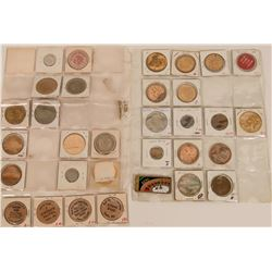 Nevada Town Tokens and Medals  (122695)