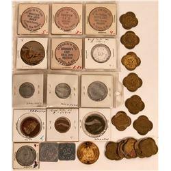 North Dakota and Nebraska area Tokens and Medals  (122693)