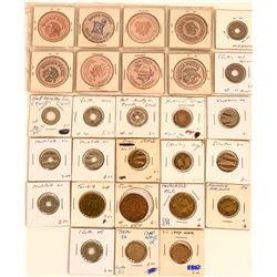 Washington and Oregon Tokens and  Medals  (122562)