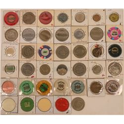 Foreign Casino Chips and Tokens  (123064)