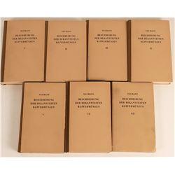 Beschreibung Der Bekanntesten Kupfermunzen 7 Volumes  (118956)
