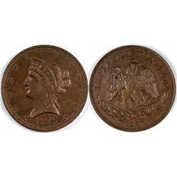 Mexico Counter 1876  (121807)