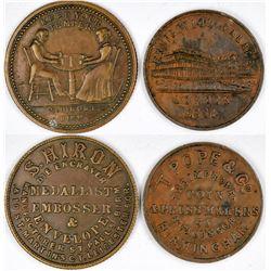 London Die Strikers tokens  (121788)