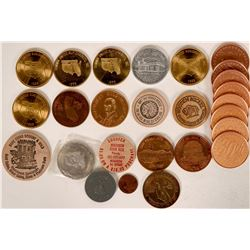 Coin Organization Medals and Tokens  (118905)