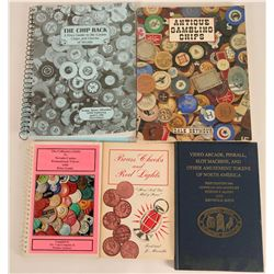 Gaming Token and Casino Chips Etc. Reference Books  (118926)