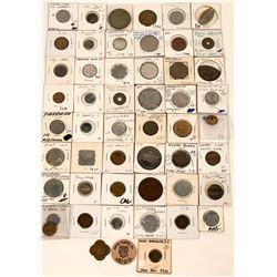 Grab Bag of American Token Collection  (123047)