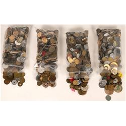 Grab Bag of Tokens, Medals etc (About 20 pounds!)  (120011)