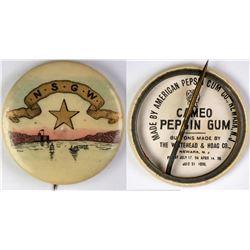 Pin Back NSGW  (121798)
