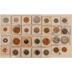 Presidents (and Ben Franklin) Tokens  (123091)