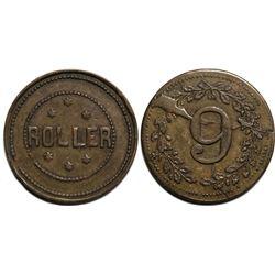 "Roller ""6"" Token  (121422)"