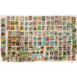 Oakland A's Key Man Card Collection, c1975-90  (109380)