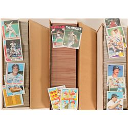 1982, 1985, 1986 Topps Baseball Card Sets  (110561)