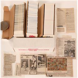 Baseball Card Box Sets, Fleer, DR, Score  (110241)