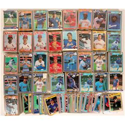 Fleer Baseball cards from 1985  (109889)