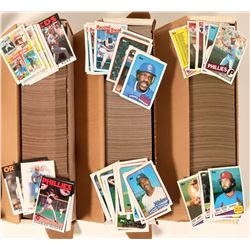 Topps 1985, 1986, 1989 Baseball Card Sets  (110555)