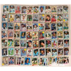 Topps Baseball Cards from the 1982 Season  (109892)