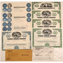 U.S. Oil Company Stock Certificates  (108588)