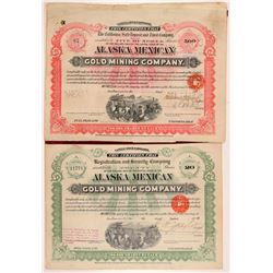 Alaska Mexican Gold Mining Bonds (2)  (108196)
