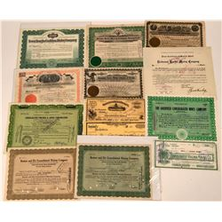 Nevada Mining Stock Collection  (113598)