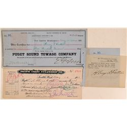 Puget Sound Transportation Stock & Check  (107826)