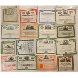 American Stock Certificate  Collection  (110200)