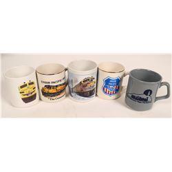 Railroad Coffee Cups  (121039)