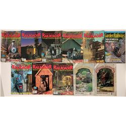 Railroad Modeling Magazines (10)  (122290)