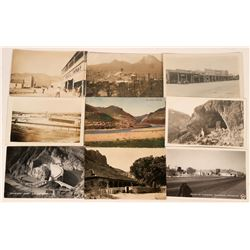 Picacho Area Postcards Includes Hayden,Chandler and Ray, Arizona (9)  (118542)