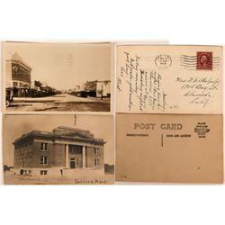 Real Photo Postcards of Safford, Arizona (2)  (118540)