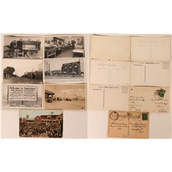Douglas and Tombstone  Postcards (7)  (118508)