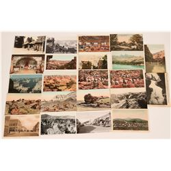 Grand Canyon, Petrified Forest & Williams Postcards (22)  (118523)