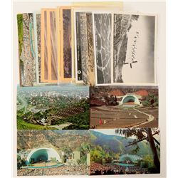 Hollywood Bowl Postcards with RPC's  (102354)