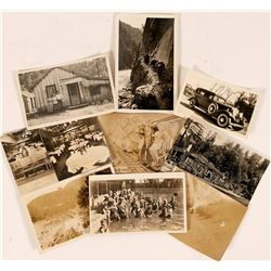 California Postcards Various Locations RPCs (9)  (108229)