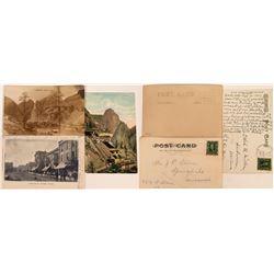Creede & Trinidad Colorado Postcards (3)  (118402)