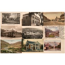 Western Colorado Postcard Group: Grand Junction, Delta, Rifle & Glenwood Spgs. (9)  (118513)