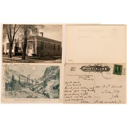 Gunnison, Colorado Postcards Including Raymond Tunnel & Mill (2)  (118510)