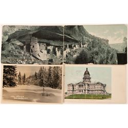 Colorado Postcards Includes Two from Cliff Palace at Mancos (4)  (118549)