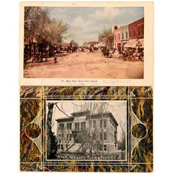 Rocky Ford, Colorado Postcards (2)  (118412)