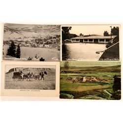 Steamboat Springs and Kremling, Colorado Postcards (2)  (118517)