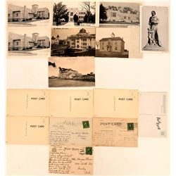 Eastern Colorado Town Postcards Includes Lamar, Julesburg & Sterling (8)  (118398)