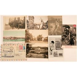 Postal Group of First Flight & Real Photo Poscards  (120668)