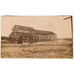 Shelly Idaho, RPC, Alfafa Mill being built, early 1900s  (119960)
