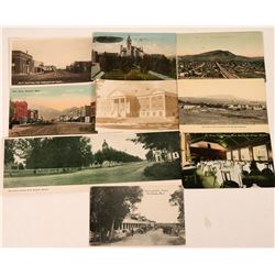 "Montana- ""H"" Towns Postcards (9)  (118490)"