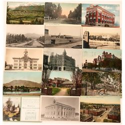 "Montana- ""K-L-M"" Towns Postcards (15)  (118491)"