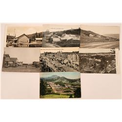 Montana- Small Towns B-C  Postcards (7)  (118488)