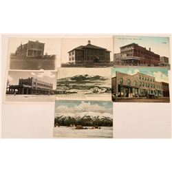 Montana Small Towns D-G Postcards (7)  (118489)