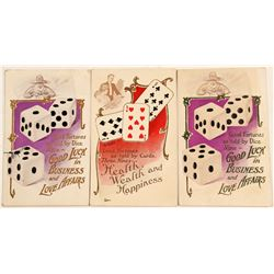 Gambling Advertising Post Cards  (102764)